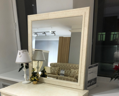 Зеркало Афина рамочное корень ясеня