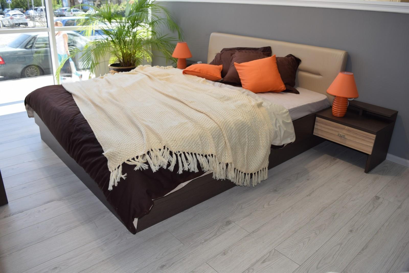 Кровать Фелисия кокоболо натуральный1