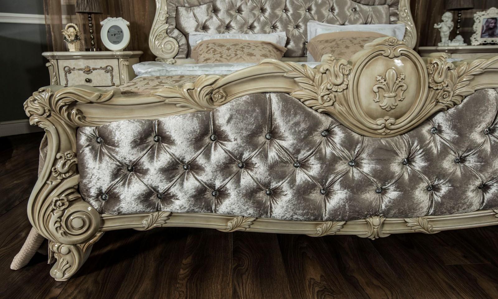 Кровать Марселла корень ясеня глянец1
