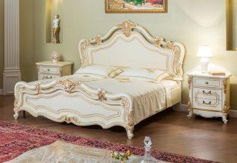 Кровать Мона Лиза крем