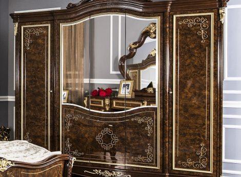 Шкафы с зеркалом для спальни