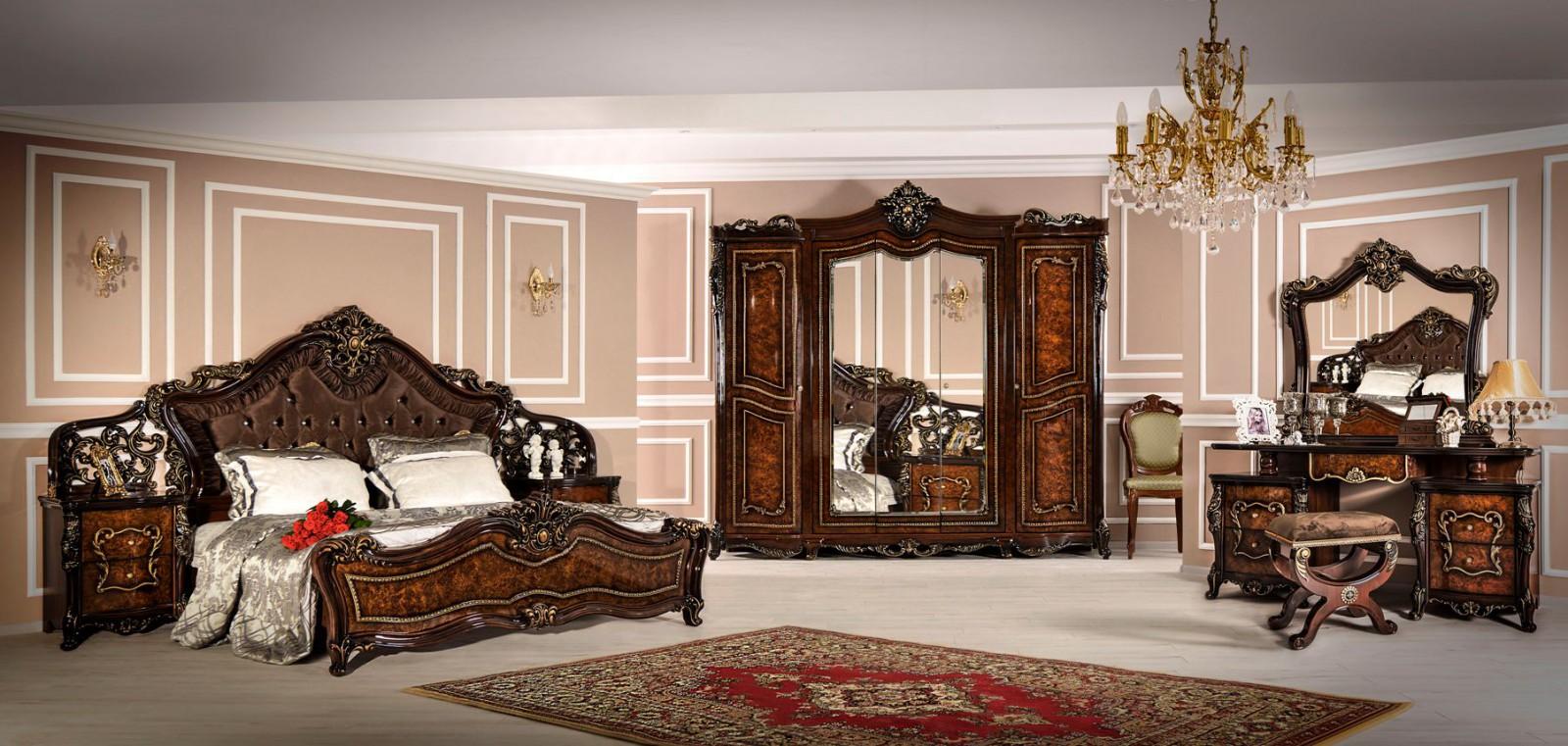 Спальня Джоконда корень дуба глянец