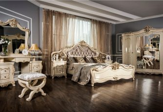 Спальня Джоконда крем глянец