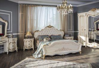 Спальня Энрике крем глянец