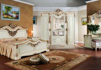 Спальня Габриэлла крем глянец
