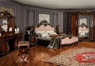 Спальня Марселла корень дуба глянец