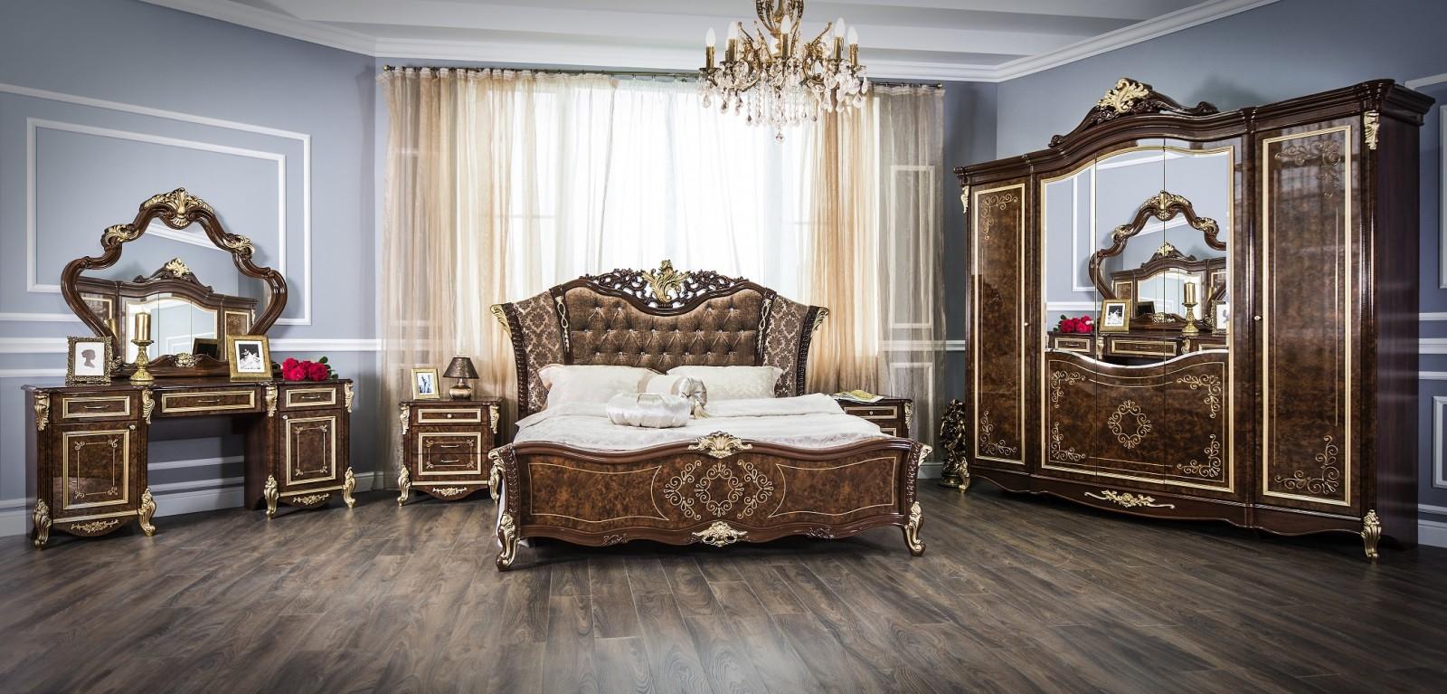 Спальня Оливия корень дуба глянец