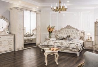 Спальня Патрисия корень ясеня глянец