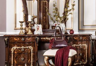 Туалетный столик Энрике корень дуба глянец