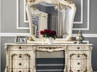 Туалетный столик Энрике крем глянец