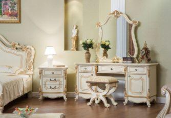Туалетный столик Мона Лиза крем