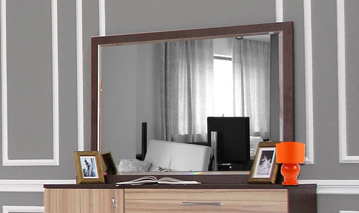 Зеркало Фелисия кокоболо натуральный
