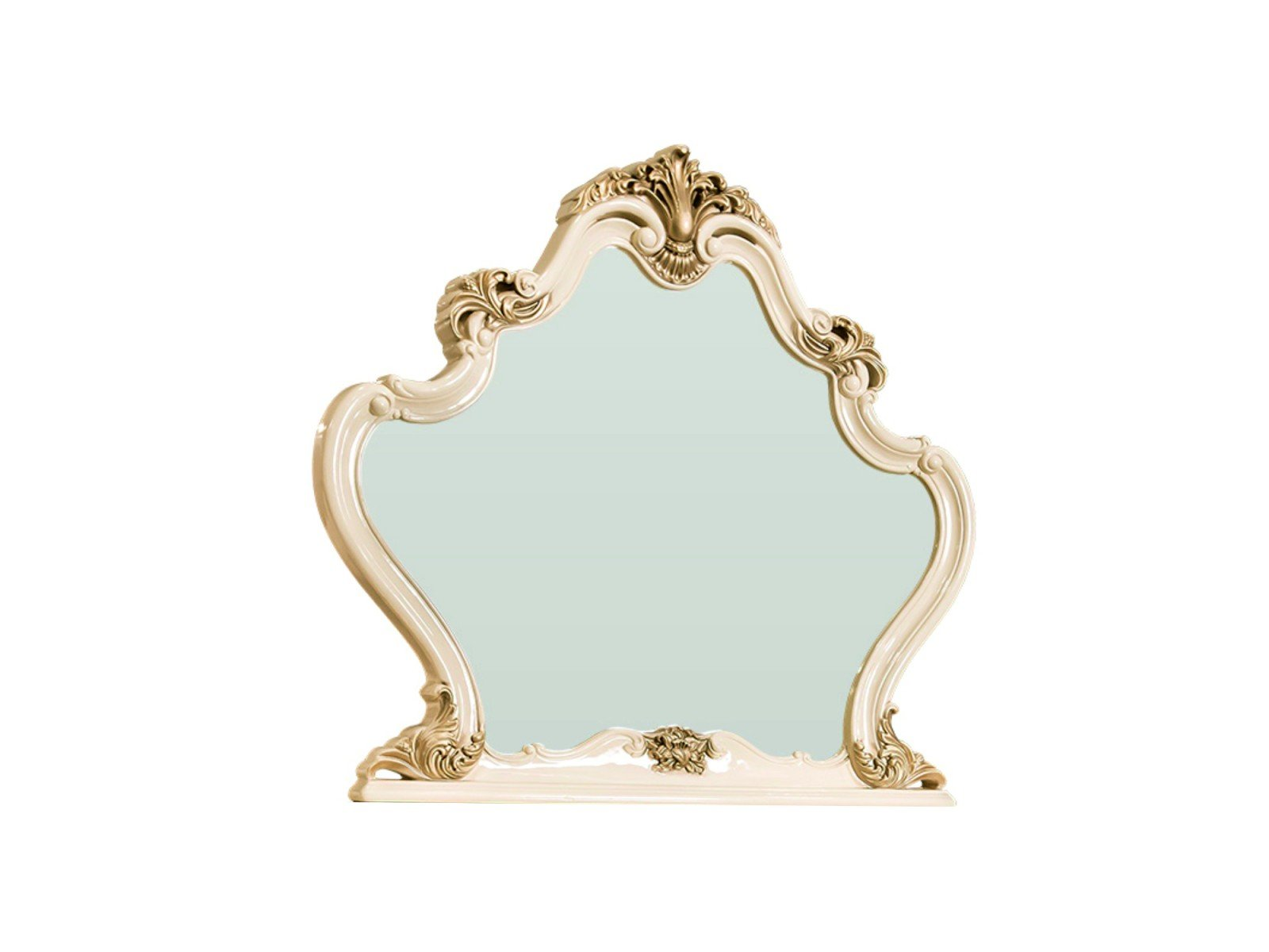 Зеркало Оливия крем глянец1