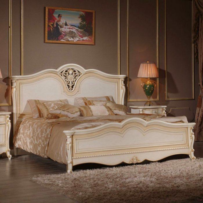 Кровать Milana Avorio
