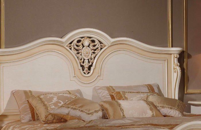 Кровать Milana Avorio1