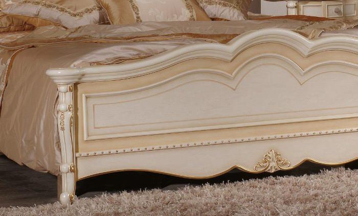 Кровать Milana Avorio2