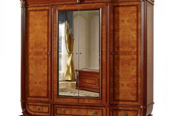Шкаф 4-х дв. Imperiale II орех