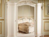 Шкаф 5-ти дв. Afina белый с жемчугом