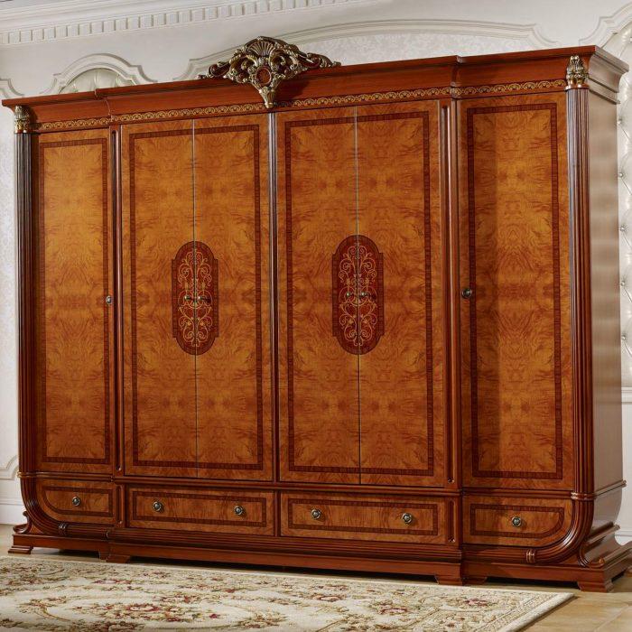 Шкаф Imperiale II орех 6-ти дв.