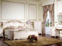 Спальня Afina белая с золотом