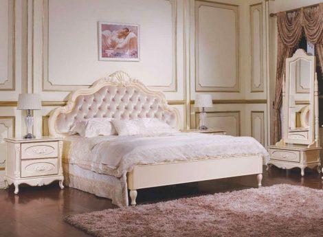 Бежевые спальни