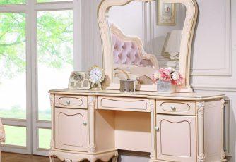 Туалетный стол с зеркалом Aurora