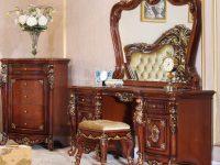 Стол туалетный Domenica с зеркалом