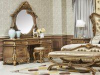 Стол туалетный Esmeralda с зеркалом