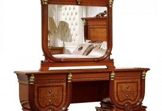 Стол туалетный с зеркалом Imperiale II орех