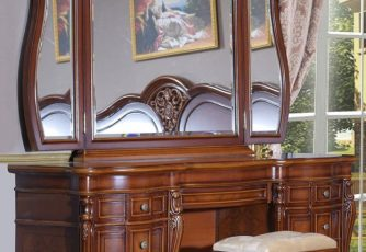 Стол туалетный Milana Chillegio с зеркалом