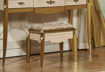 Стол туалетный без зеркала Chloe Gold
