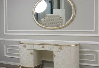 Стол туалетный с зеркалом Liberty Art