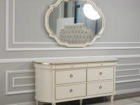 Стол туалетный с зеркалом Marquise Art