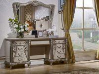 Стол туалетный с зеркалом Tiffany Art