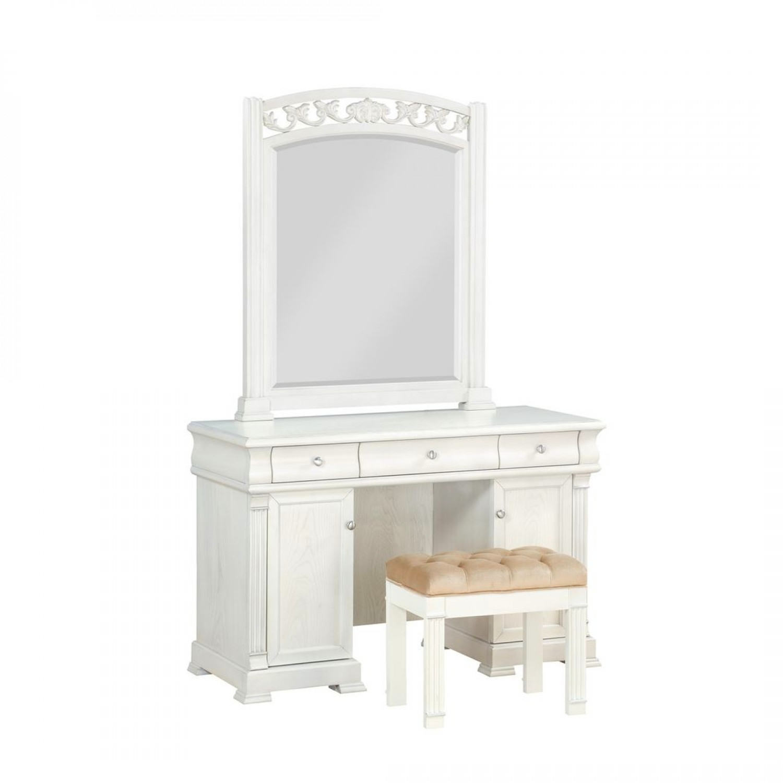 Стол туалетный с зеркалом Vivaldi Avorio