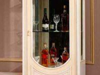Витрина 1-дверная правая Milana Avorio