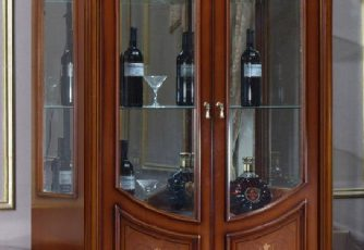 Витрина 2-х дверная Milana Chillegio