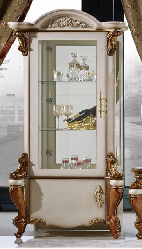Витрина 1-дверная Opera Rosso