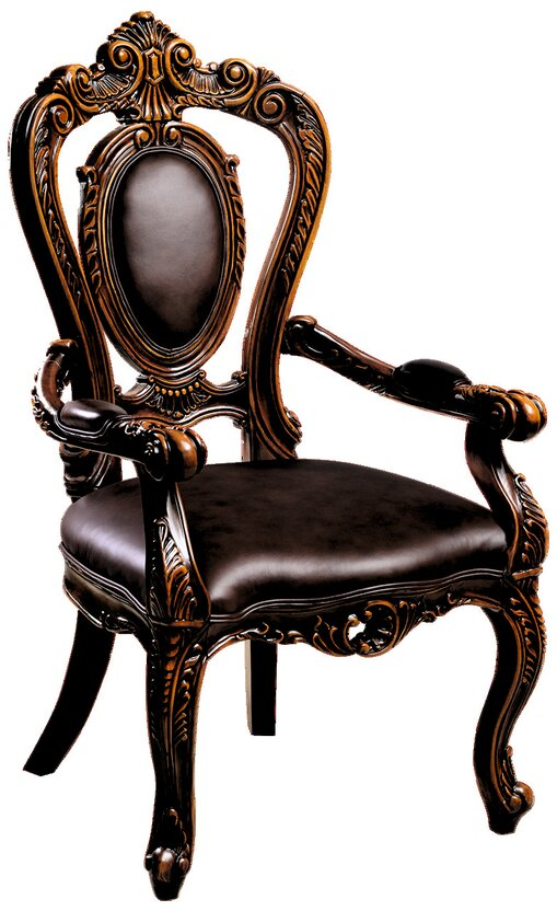 Кресло обеденное Aleksandria кожа