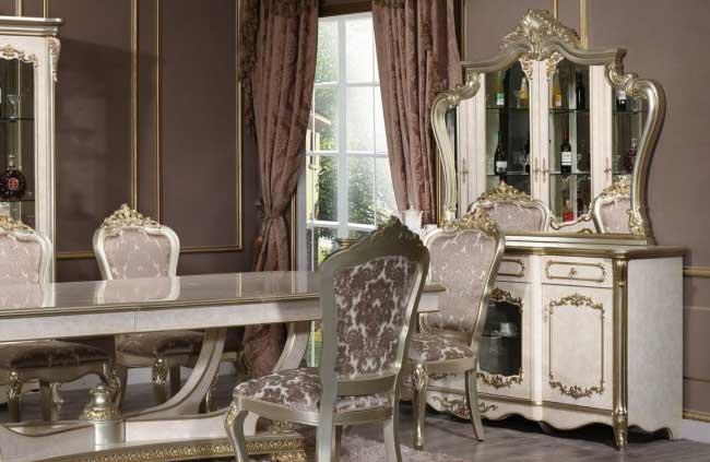 Комод Marcella с зеркалом