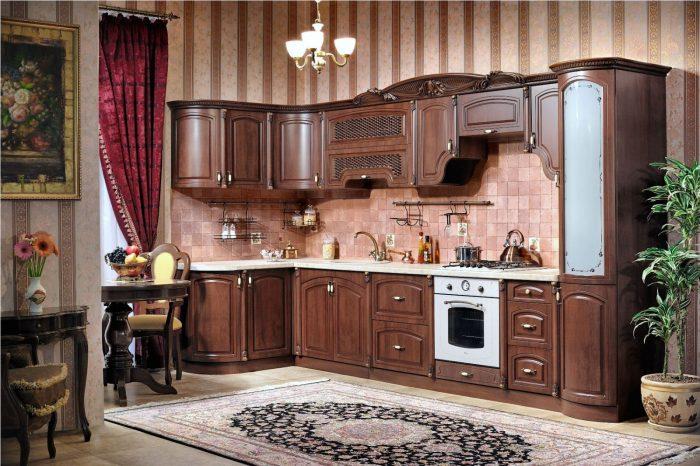 Кухня Мадлен караваджо угловая