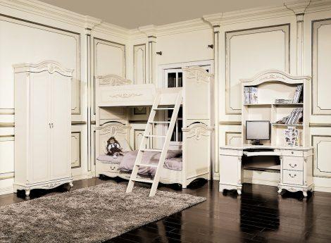 Детская двухъярусная мебель