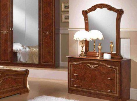 Комоды с зеркалом для спальни