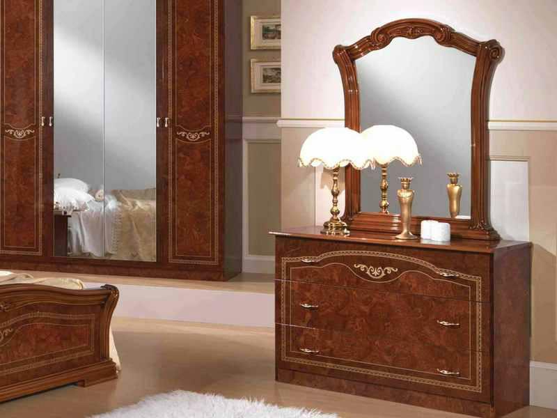 Комод с зеркалом Ирина орех