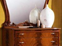 Комод с зеркалом Ольга орех