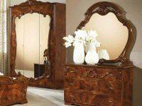 Комод с зеркалом Тициана орех