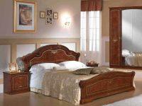 Кровать Ирина орех