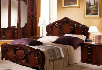 Кровать Ольга могано