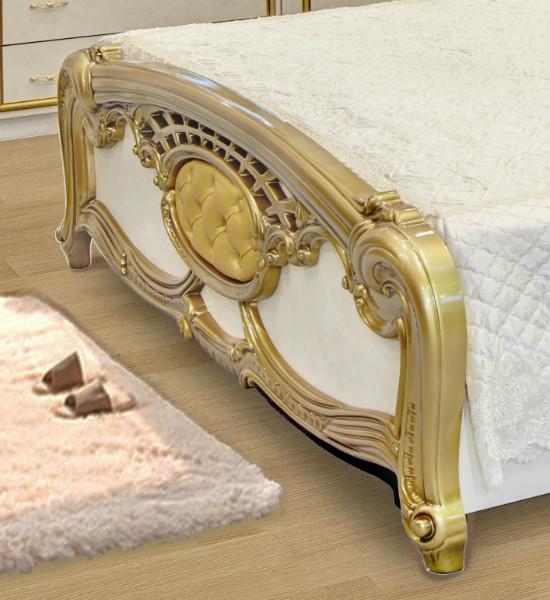 Кровать Ольга золото2