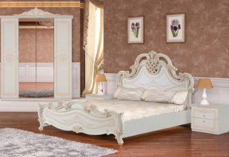 Кровать Версаль беж